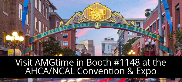 AMGtime Exhibits at AHCA/NCAL Convention & Expo