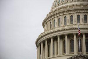 Capitolium Building In Washington DC