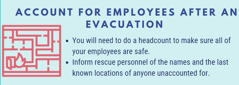Account for Employees After an Evacuation