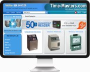 Launch time-masters.com e-commerce website