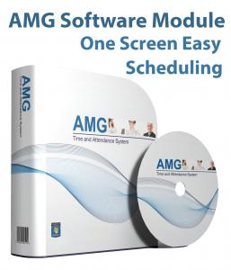 AMG Software Module One Screen Easy Scheduling
