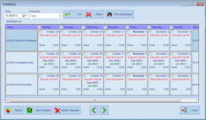AMG Software Module One Screen Easy Scheduling_1
