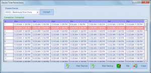 AMG Software Module Time Restrictions_1